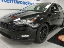 Used 2016 Ford Focus SE- black on black- leather heated seat, back up cam for sale in Edmonton, AB