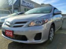 Used 2013 Toyota Corolla CE/SUNROOF/BLUETOOTH/CERTIFIED for sale in Concord, ON