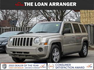 Used 2010 Jeep Patriot SPORT for sale in Barrie, ON