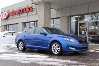 Used 2013 Kia Optima EX HEATED SEATS | SUNROOF | BLUETOOTH for sale in Cobourg, ON