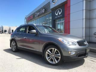 Used 2014 Infiniti QX50 Premium Pkg. w/ Navigation for sale in Oakville, ON