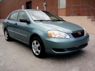 Used 2005 Toyota Corolla VERY CLEAN ,5 SPEED for sale in North York, ON