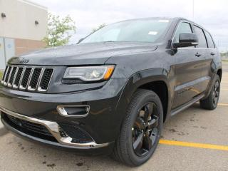 Used 2016 Jeep Grand Cherokee Overland / Panoramic Sunroof / GPS Navigation for sale in Edmonton, AB