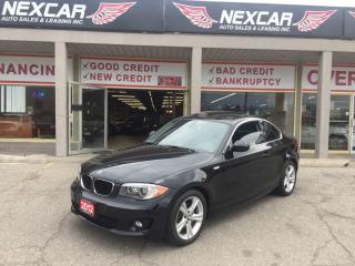 Used 2012 BMW 128I (M6) C0UPE AUT0 LEATHER SUNROOF 64K for sale in North York, ON