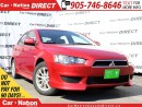 Used 2011 Mitsubishi Lancer Sportback SE| LOW KM'S| HEATED SEATS| OPEN SUNDAY'S| for sale in Burlington, ON