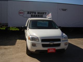Used 2009 Chevrolet Uplander Cargo Van for sale in Barrie, ON