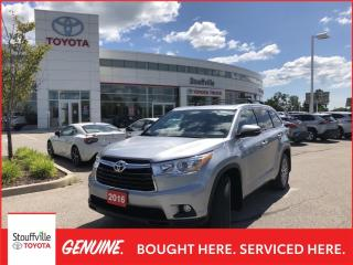 Used 2016 Toyota Highlander XLE - NAVIGATION - POWER MOONROOF for sale in Stouffville, ON