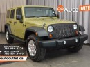 Used 2013 Jeep Wrangler Unlimited Sport 4DR 4X4 for sale in Edmonton, AB