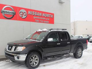 Used 2016 Nissan Frontier SL/4X4/CREW CAB/ONE OWNER/LEATHER for sale in Edmonton, AB