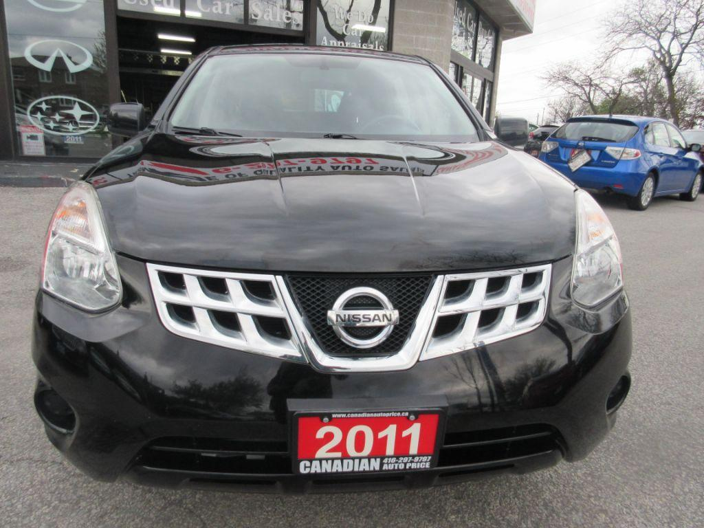 used 2011 nissan rogue sport utility black on black for sale in scarborough ontario. Black Bedroom Furniture Sets. Home Design Ideas