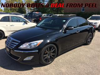 Used 2013 Hyundai Genesis 3.8**REDUCED**ROOF**LEATHER**BACK-UP CAM** for sale in Mississauga, ON