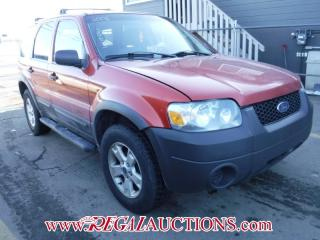 Used 2006 Ford ESCAPE XLT 4D UTILITY 2WD for sale in Calgary, AB