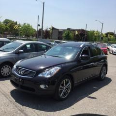 Used 2012 Infiniti EX35 FULLY CERTIFIED LUXURY 360 CAMERA for sale in Scarborough, ON