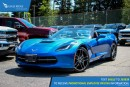 New 2016 Chevrolet Corvette Stingray 460hp V8 with performance data recorder & navigation for sale in Port Coquitlam, BC