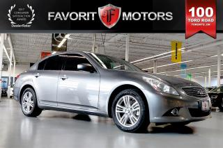 Used 2011 Infiniti G37 X Luxury AWD | BACK-UP CAM | HEATED SEATS | SUNROOF for sale in North York, ON