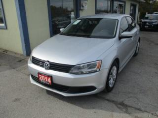 Used 2014 Volkswagen Jetta FUEL EFFICIENT SE EDITION 5 PASSENGER 2.0L - DOHC.. HEATED SEATS.. CD/AUX INPUT.. KEYLESS ENTRY.. for sale in Bradford, ON
