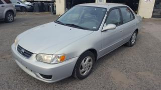 Used 2001 Toyota Corolla for sale in Etobicoke, ON
