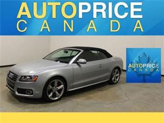 Used 2011 Audi A5 2.0T S-LINE Cabriolet for sale in Mississauga, ON