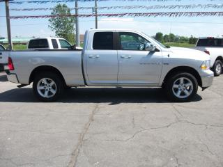 Used 2011 Dodge Ram 1500 SLT QUAD CAB 4x4 for sale in Fonthill, ON