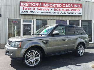 Used 2010 Land Rover Range Rover Sport HSE LUX for sale in Burlington, ON
