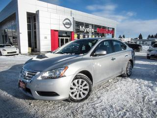 Used 2013 Nissan Sentra SV, INTELLIGENT KEY, HEATED SEATS, XM RADIO for sale in Orleans, ON