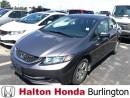 Used 2014 Honda Civic SEDAN LX for sale in Burlington, ON