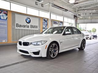 Used 2015 BMW M3 Sedan for sale in Edmonton, AB