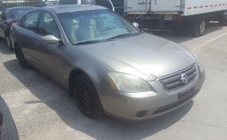 Used 2003 Nissan Altima for sale in Etobicoke, ON