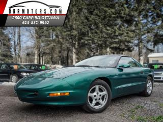 Used 1997 Pontiac Firebird Coupe  T-Roof  Rare Find for sale in Stittsville, ON