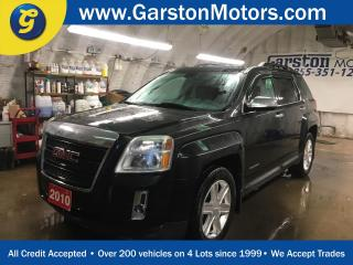 Used 2010 GMC Terrain SLE*PHONE CONNECT*ECO MODE*BACK UP CAMERA*RAIN GUARDS*POWER DRIVER SEAT*KEYLESS ENTRY*PIONEER AUDIO* for sale in Cambridge, ON