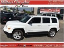 Used 2015 Jeep Patriot Limited 4x4 Leather for sale in Milton, ON