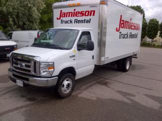 Used 2016 Ford E450 16' gas with ramp for sale in Kitchener, ON