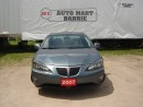 Used 2007 Pontiac Grand Prix SEDAN for sale in Barrie, ON