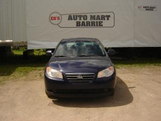 Used 2009 Hyundai Elantra GL for sale in Barrie, ON