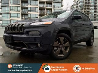 Used 2016 Jeep Cherokee 75TH ANNIVERSARY EDITION, GREAT CONDITION, ONE OWNER, NO ACCIDENTS, FREE LIFETIME ENGINE WARRANTY! for sale in Richmond, BC