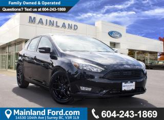 New 2016 Ford Focus SE for sale in Surrey, BC