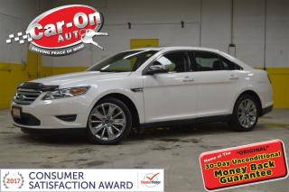 Used 2010 Ford Taurus Limited AWD LOADED !!! for sale in Ottawa, ON