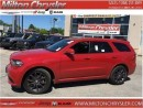 Used 2015 Dodge Durango R/T AWD 5.7L V8 8.4 Navigation Leather Sunroof for sale in Milton, ON