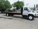 Used 2007 GMC C7500 diesel with 25  ft flat deck( 152,974 miles) for sale in Richmond Hill, ON