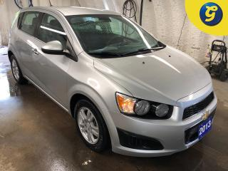 Used 2013 Chevrolet Sonic LT * Auto Start * Heated Seats * Phone connect * Voice recognition * On star * Hands free steering wheel controls * Keyless entry * Climate control * for sale in Cambridge, ON