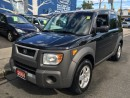 Used 2004 Honda Element w/Y Pkg for sale in Scarborough, ON