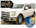 New 2016 Ford F-150 SUPERCREW 4X4 Lariat 145