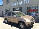 Used 2002 Honda CR-V EX w/Leather CERTIFIED & E-TESTED for sale in Hamilton, ON