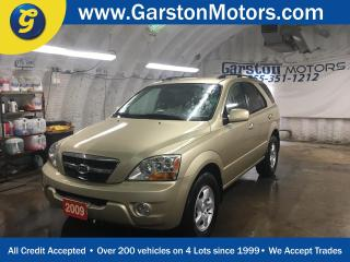 Used 2009 Kia Sorento LX*4WD*PHONE CONNECT*HEATED FRONT SEATS*TRACTION CONTROL*CLIMATE CONTROL*CRUISE CONTROL*FOG LIGHTS* for sale in Cambridge, ON