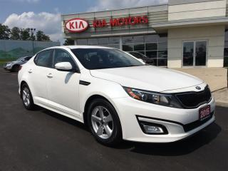 Used 2015 Kia Optima LX HEATED SEATS BLUETOOTH for sale in Woodstock, ON