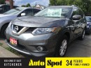 Used 2015 Nissan Rogue SV/MOONROOF/MINT VEHICLE for sale in Kitchener, ON
