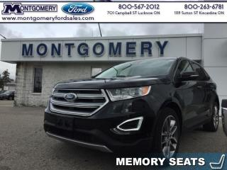 Used 2015 Ford Edge Titanium  BLIND SPOT MONITOR - REMOTE START - NAV for sale in Kincardine, ON