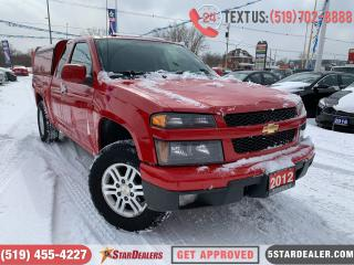 Used 2012 Chevrolet Colorado LT | 4X4 | MATCHING TOPPER INCLUDED for sale in London, ON