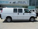Used 2015 GMC Savana 2500 3/4 ton gas cargo van loaded for sale in Richmond Hill, ON