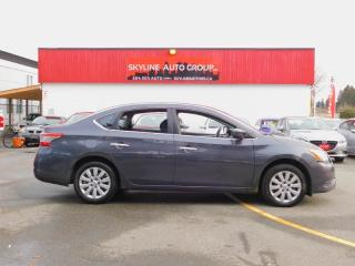 Used 2015 Nissan Sentra 4dr Sdn I4 CVT S for sale in Surrey, BC